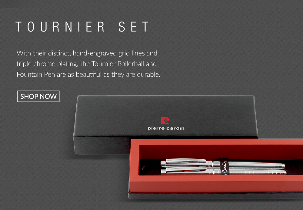 Designer pen-sets from Pierre Cardin