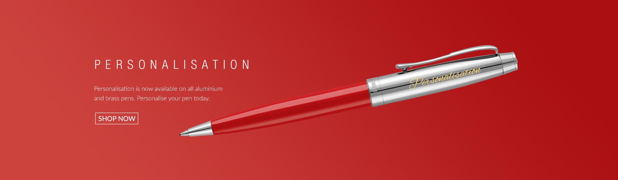 Designer personalisation from Pierre Cardin