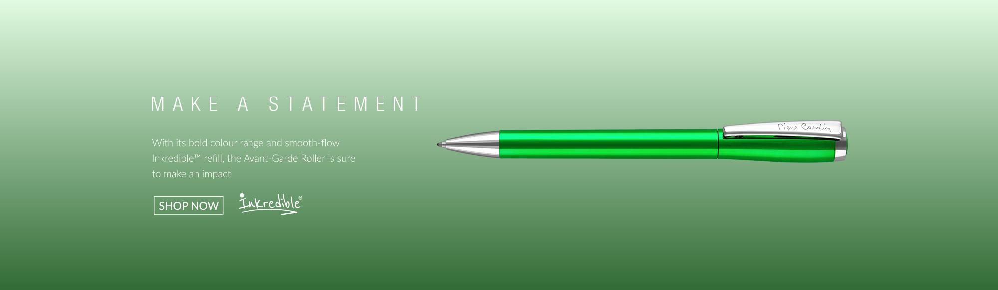 Designer rollerball-pens from Pierre Cardin