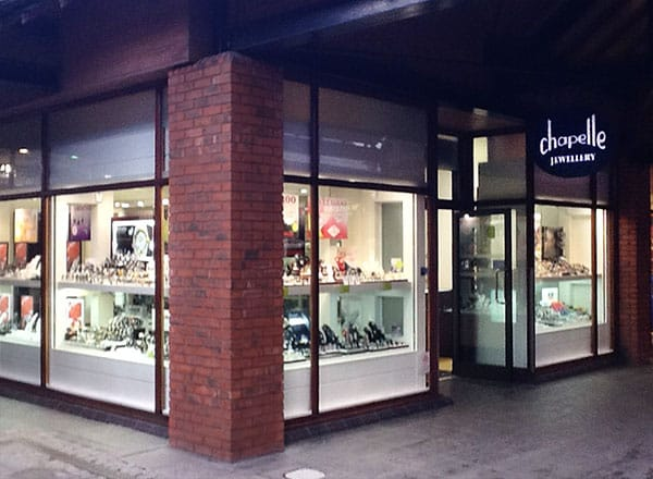 Chapelle Jewellery Store in Cheshire Oaks