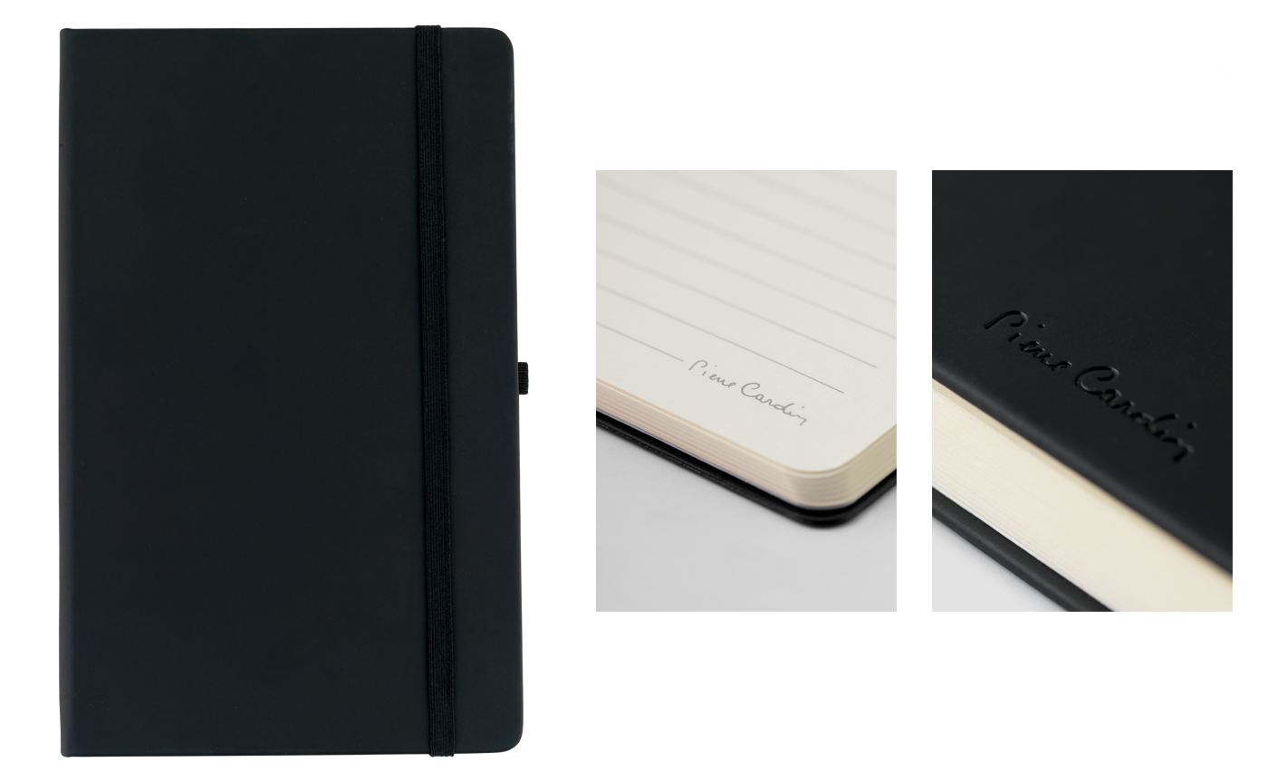 Personalised Pierre Cardin Exclusive Notebook in Range of Colours