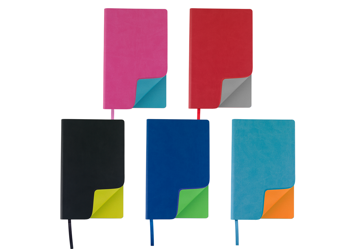 Personalised Pierre Cardin Fashion Notebook in Range of Colours