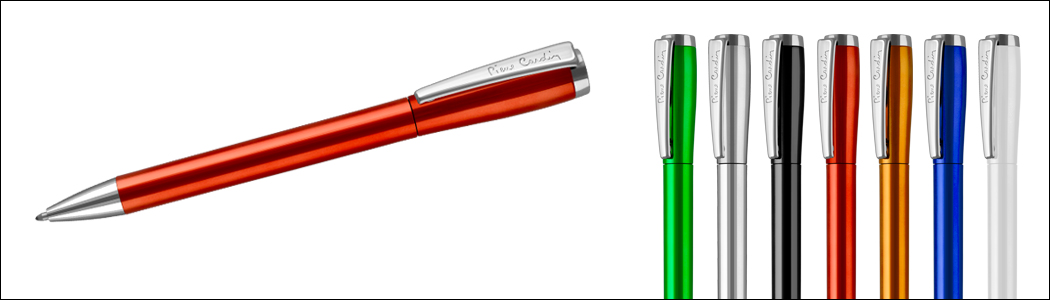Personalisation pen from Pierre Cardin